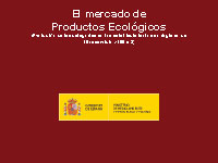 Cover of El mercado de productos ecológicos