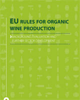 Cover of EU rules for organic wine production